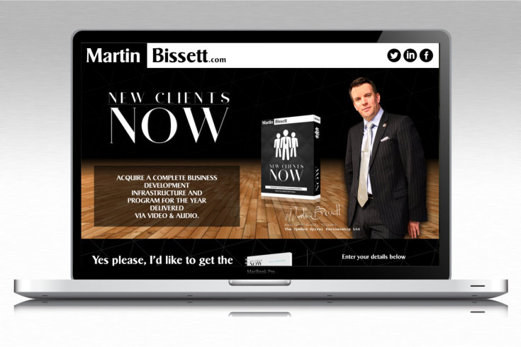 Martin Bissett - New Clients Now